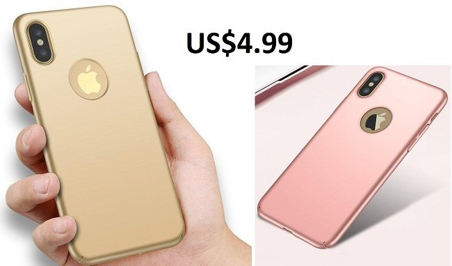 Ultra Thin Silky Fingerprint Resistant Hard PC Back Case For iPhone 8